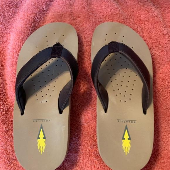 volatile sandals hardly wore